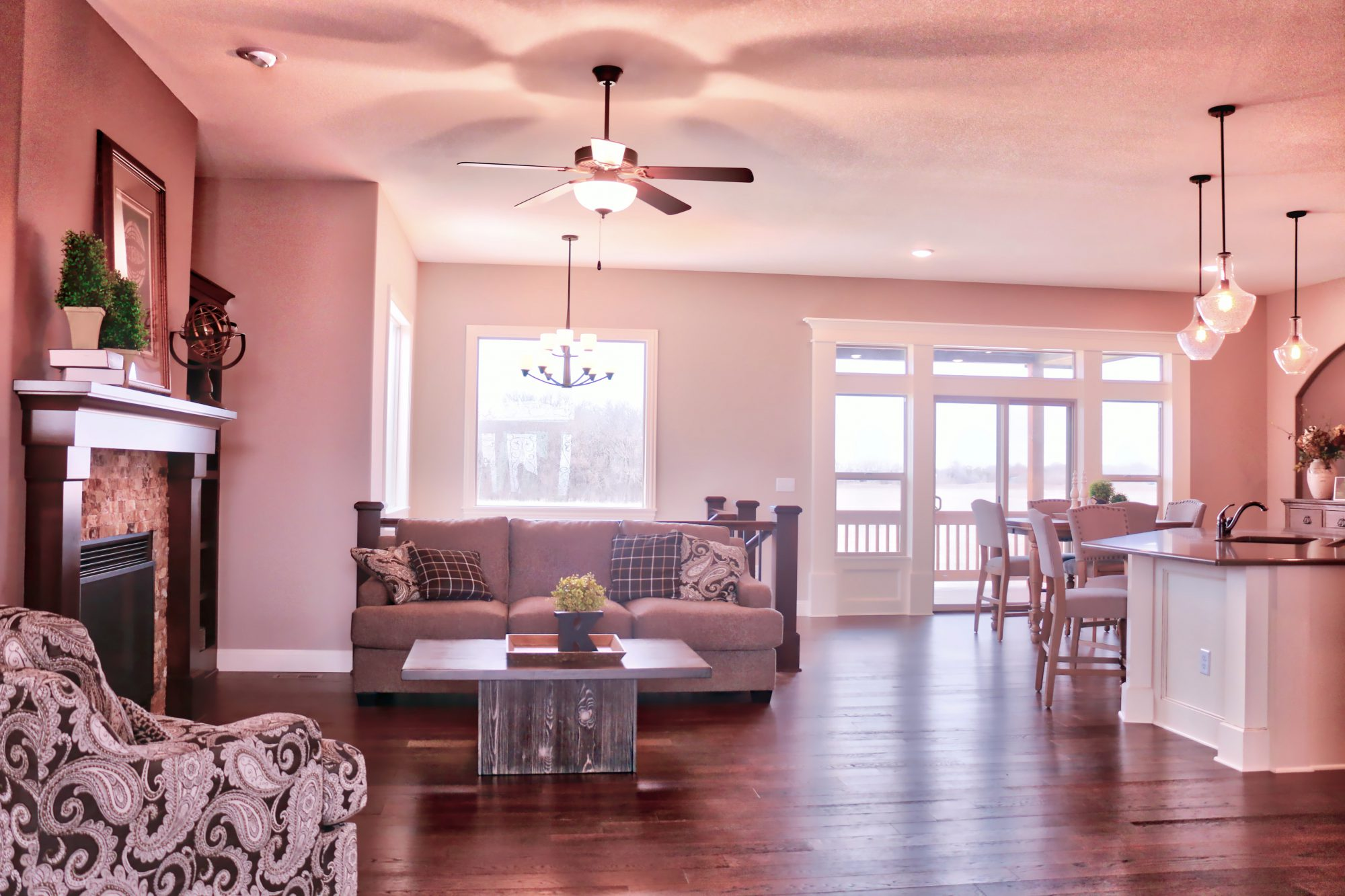 Carlee living room