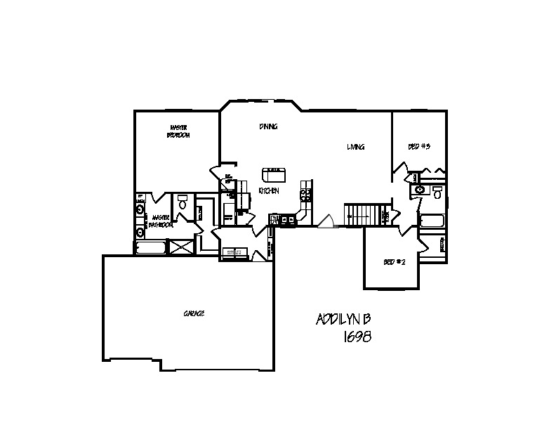 Addilyn B Floor Plan