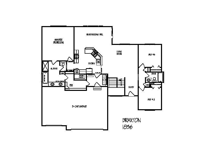 Braxton floorplan