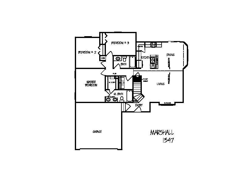 Marshall floorplan