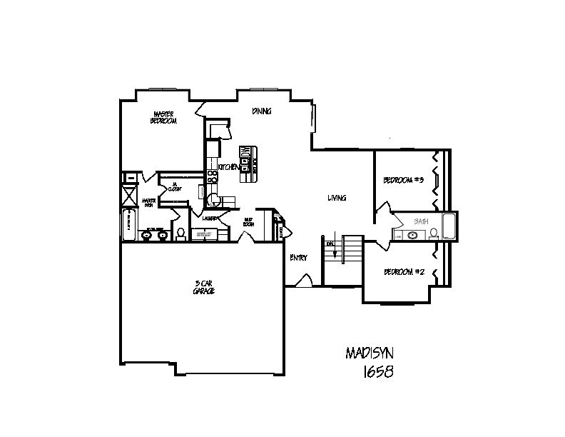 Madison floorplan