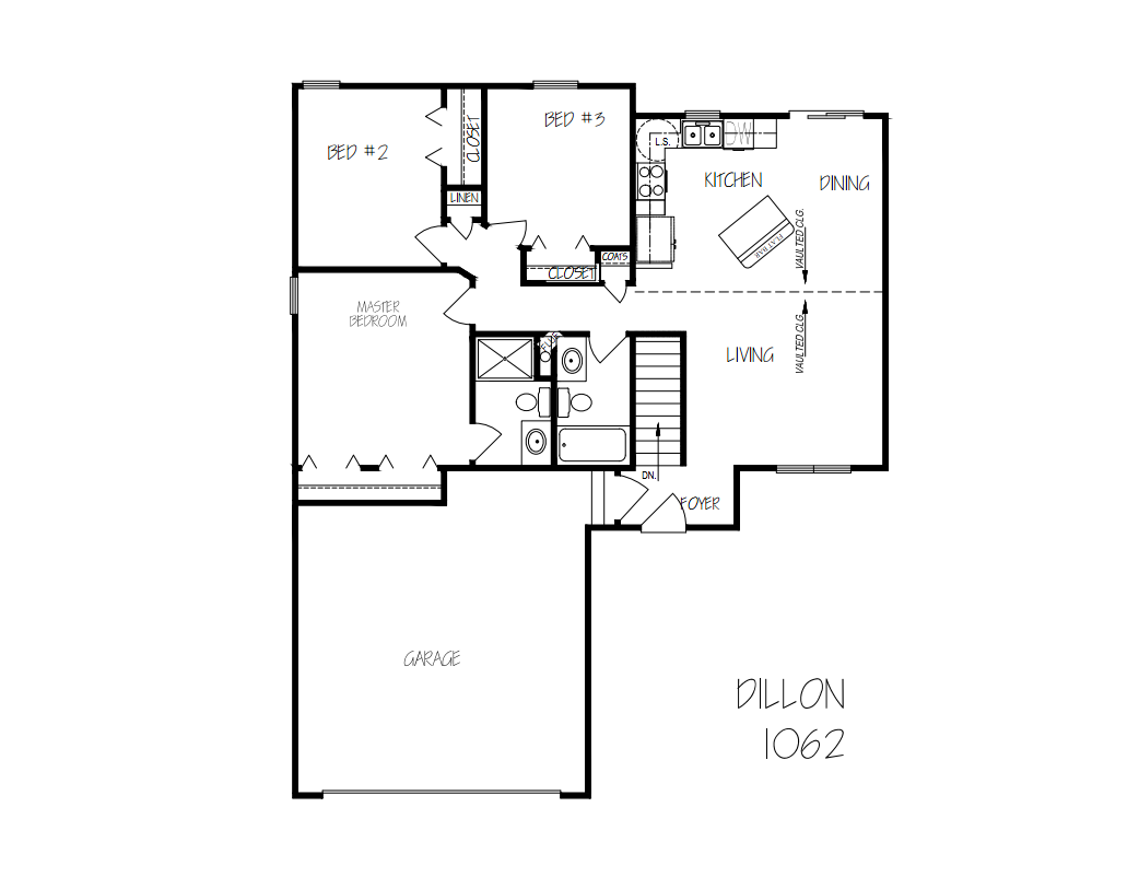 Dillon floorplan
