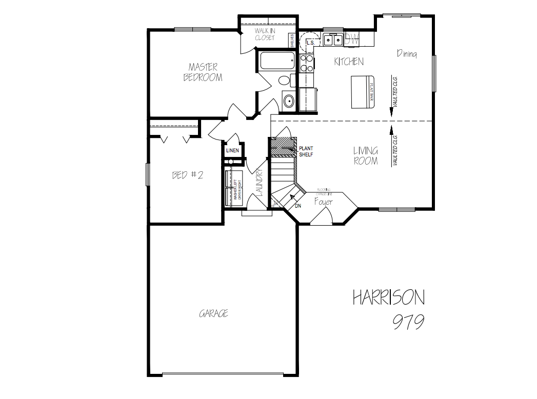 Harrison floorplan