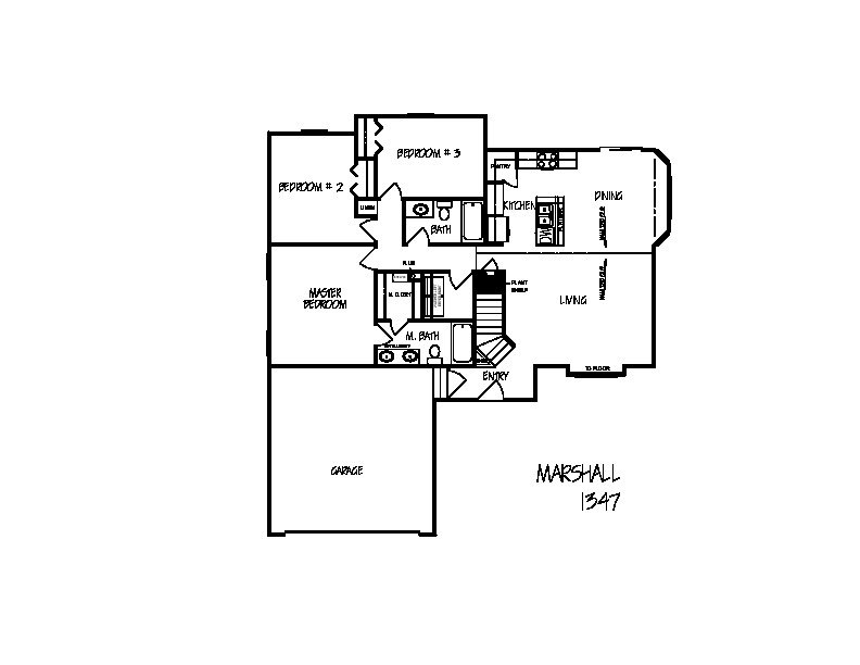 Marshall floorplan